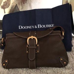 Dooney & Bourke Slim Flap Shoulder Bag